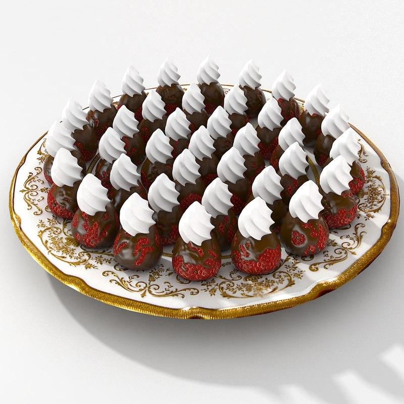 strawberry chocolate 3ds
