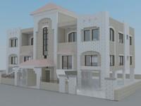 villa duplex 3d model