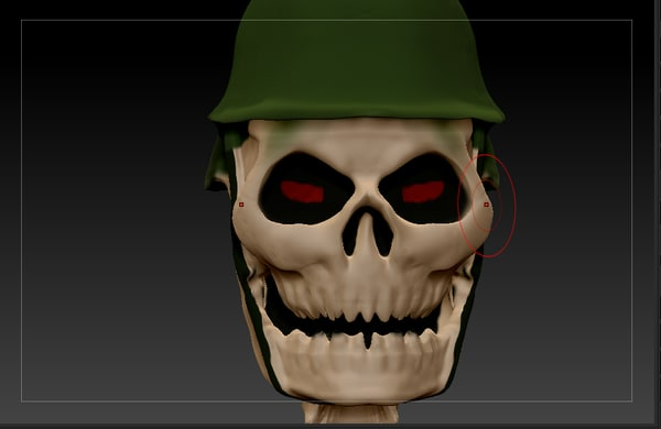 3d 3ds skull