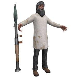 max taliban terrorist man