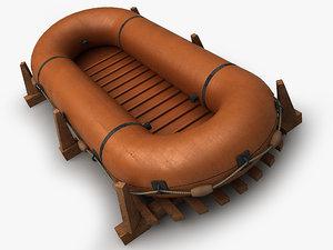 3ds dinghy boat