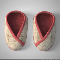 3dsmax baby shoes