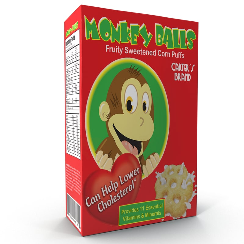 cereal box 3d 3ds