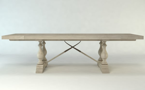3ds max diner table