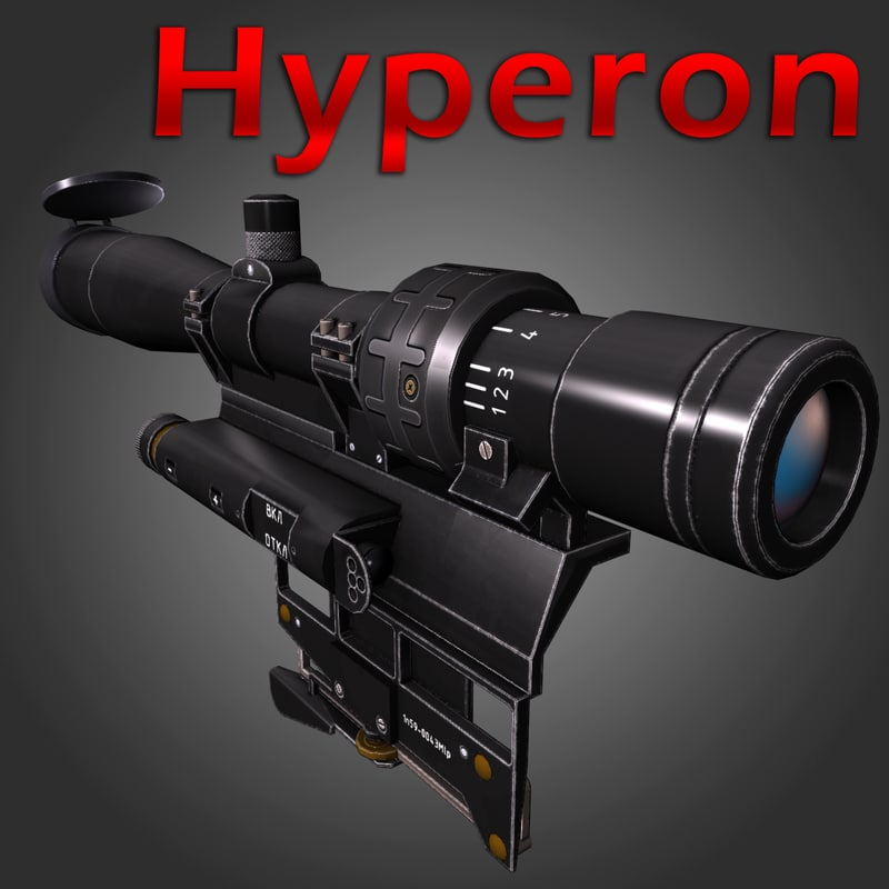 hyperon sniper sight 3d max
