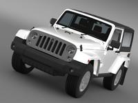 jeep wrangler 2014 3d max
