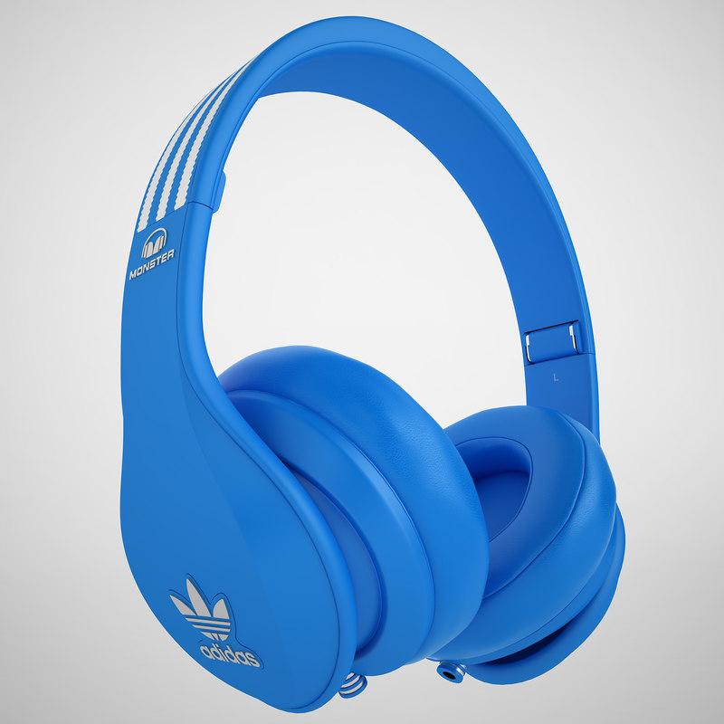 3dsmax monster headphones beats