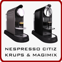 nespresso citiz krups magimix 3d max