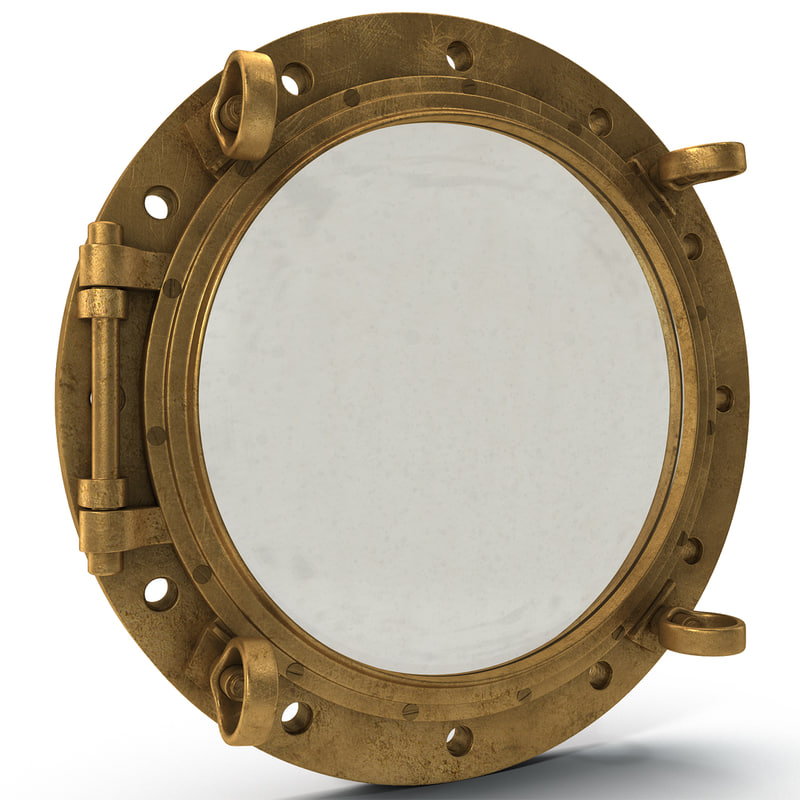 3ds max porthole hole