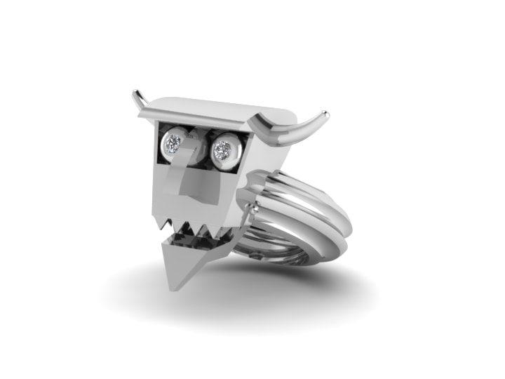 3ds max robot devil