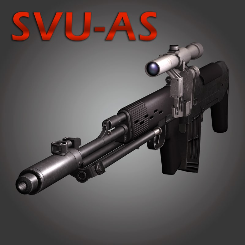 3ds ots-03 svu sniper rifle