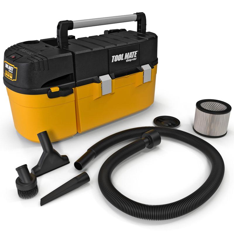 shop vac tool mate 3d model