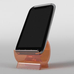 3d model htc sensation 4g t-mobile