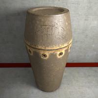 vase urn 3d model