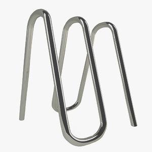 3d model bicycle rack