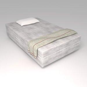 3d model bed 05