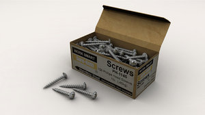 3d box screws