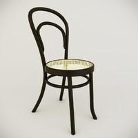 3ds max venetian chair