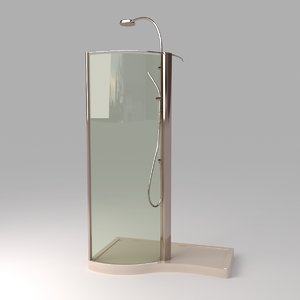 3d 3ds devon shower stall