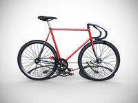 3d bicycle fixed gear model