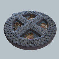 3d obj manhole