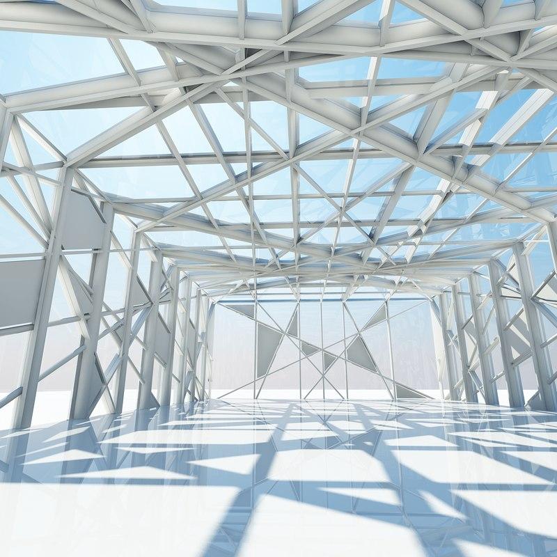3d model architectural structure