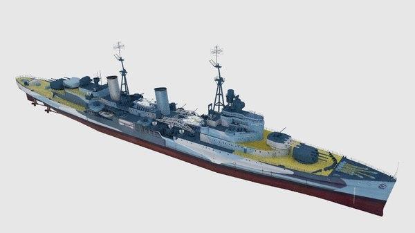 light cruiser battle ship 3ds