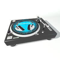 record-player 3d max