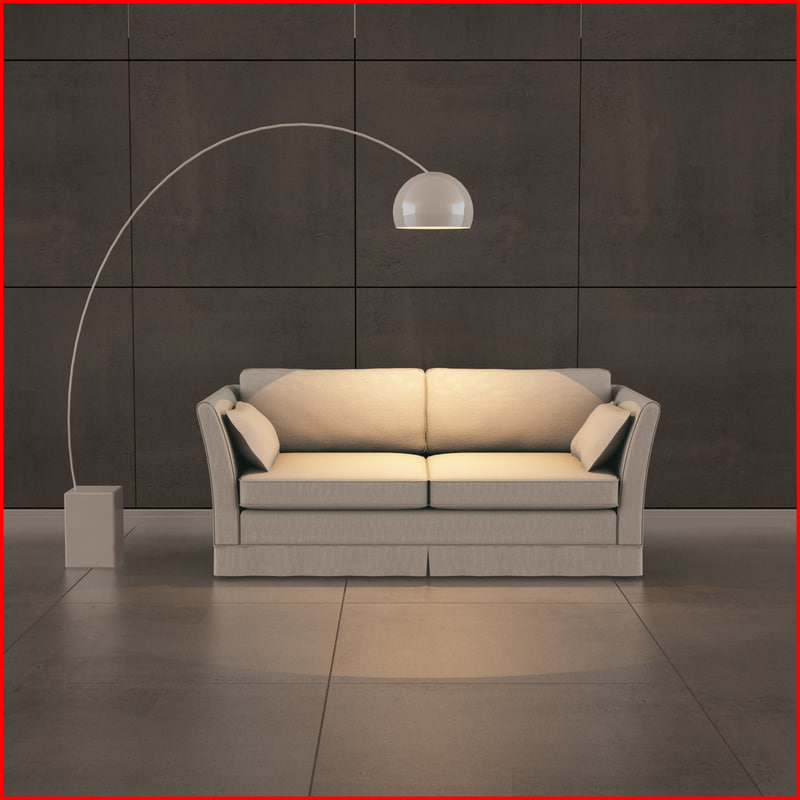 3d model nice sofa 08