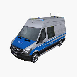 photorealistic mercedes sprinter 2014 3d max