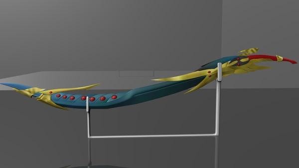 maya swords