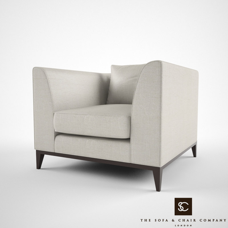 3d sofa chair company pollock model