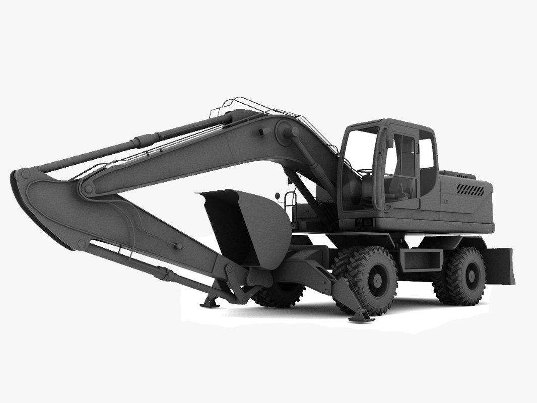 excavator heavy machine max