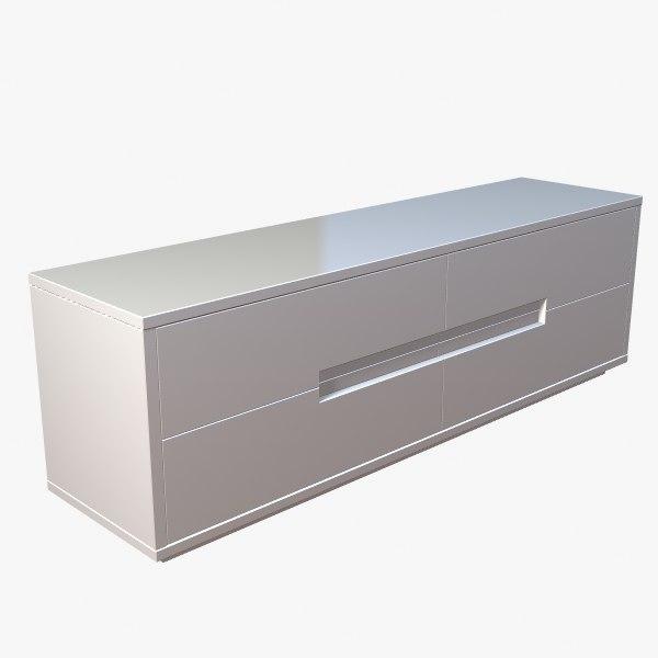 3d dresser contemporary