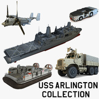 USS Arlington Collection