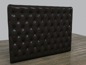 chesterfield wall panel 3d model