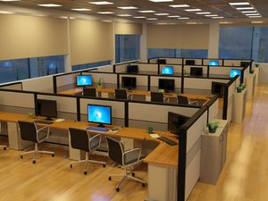 3d model office interior