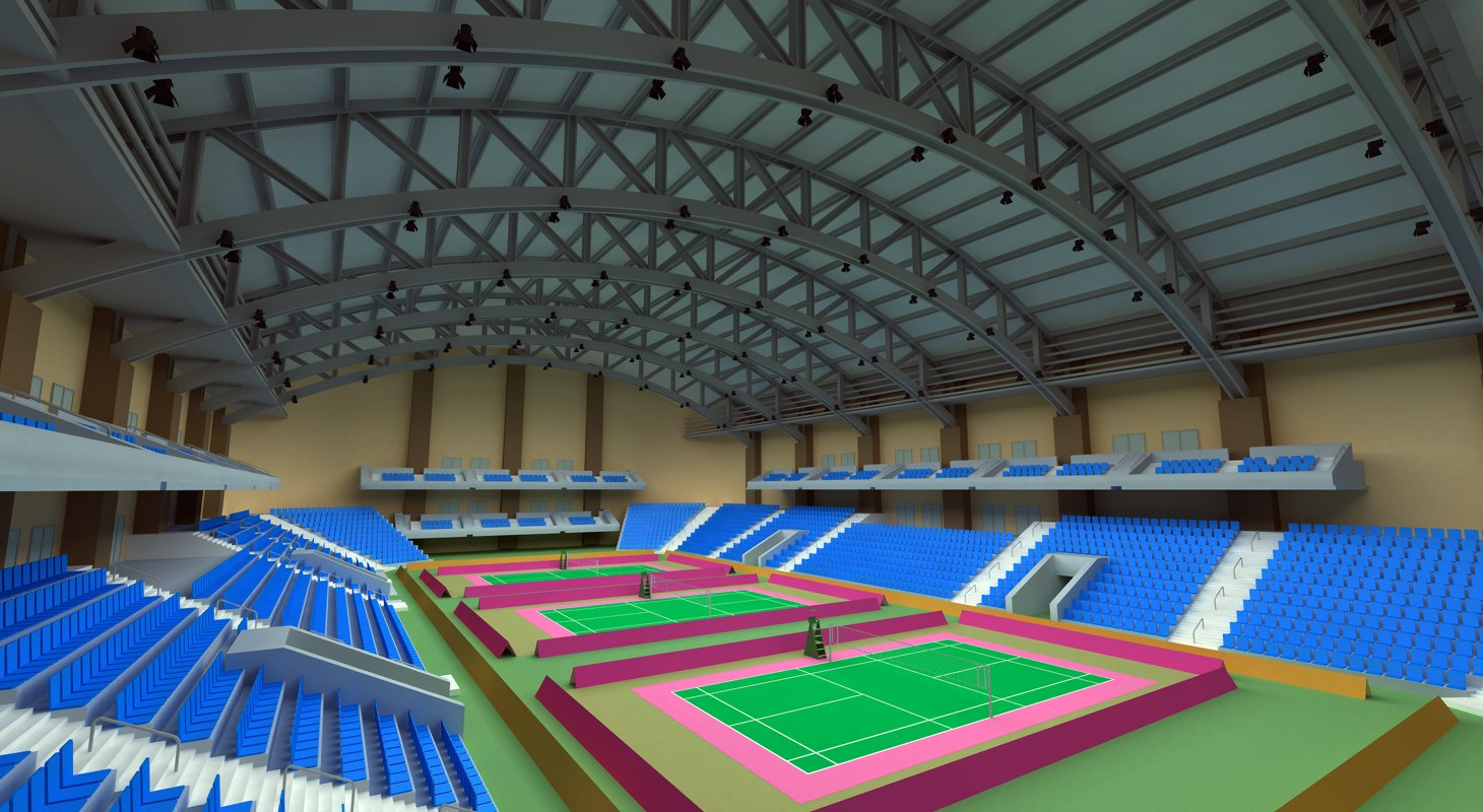 badminton arena 3d 3ds