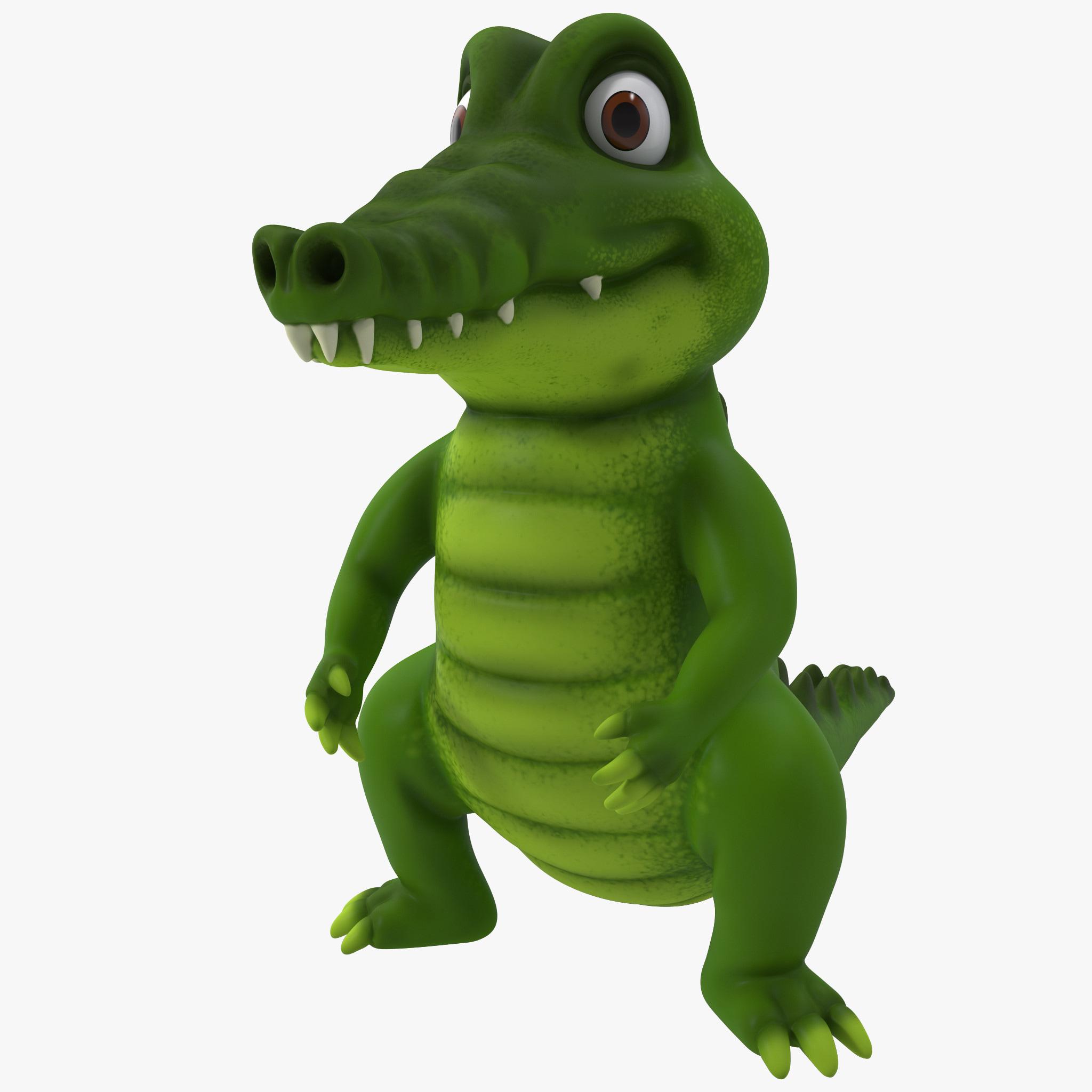 max cartoon crocodile