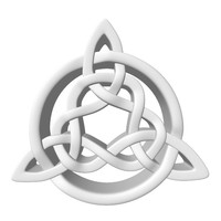 celtic knot 3d obj