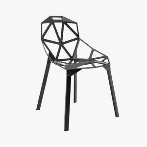 3d konstantin grcic design chair