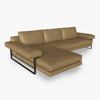 3d arketipo ego sofa model