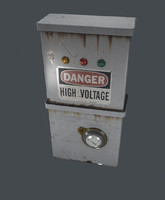 3ds max electric box