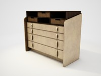 Flou (Carlo Colombo) - secretary desk