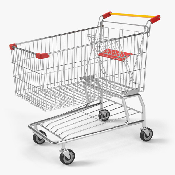 shopping cart 3d lwo