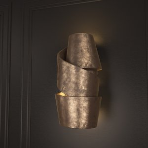 3d model wall sconce ralph pucci