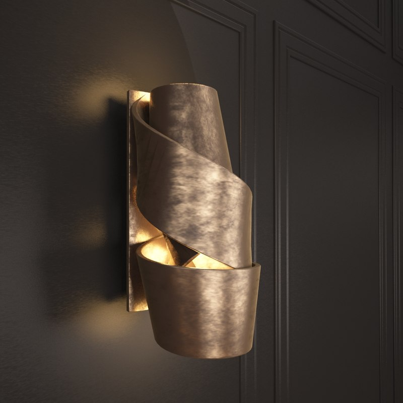 3d model wall sconce ralph pucci & model wall sconce ralph pucci azcodes.com