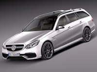Mercedes-Benz E63 AMG Estate 2014
