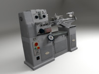 blender lathe machine