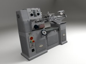 blender lathe machine